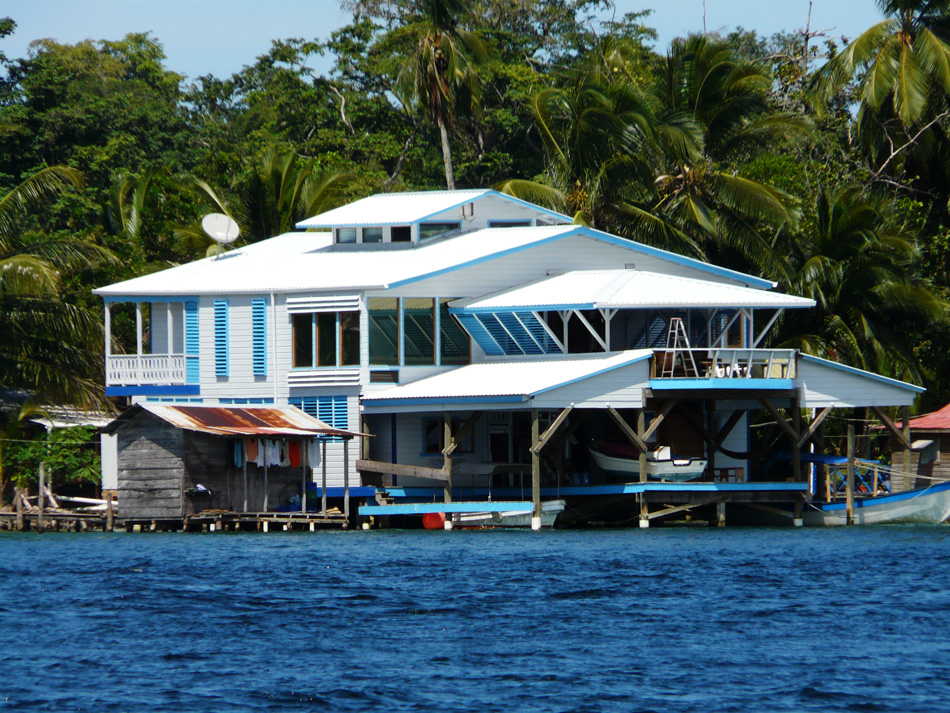 On the water, Bocas, Panama.