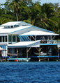 Bocas home on the water.