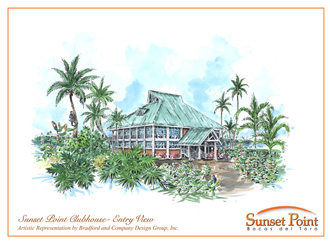 Clubhouse at Sunset Point.