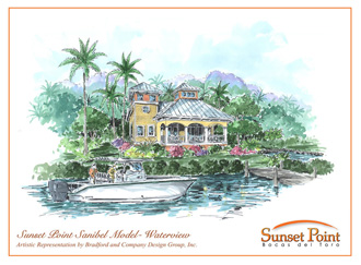 Sanibel Homes at Sunset Point.