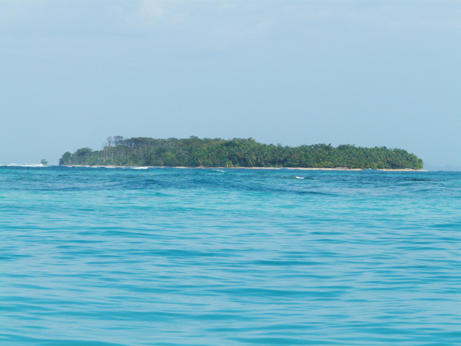 One of the islands of Bocas, close to Sunset Point.